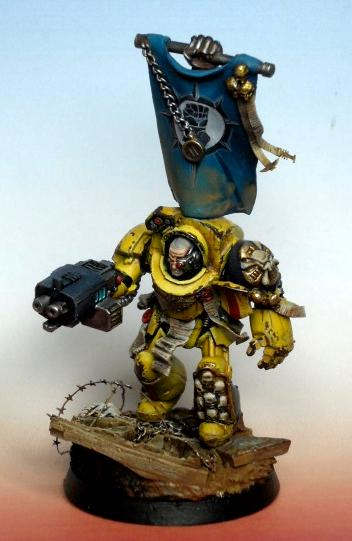 Imperial Fists, Imperial Fist sergeant
