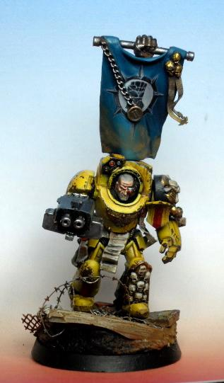 Imperial fist sergeant