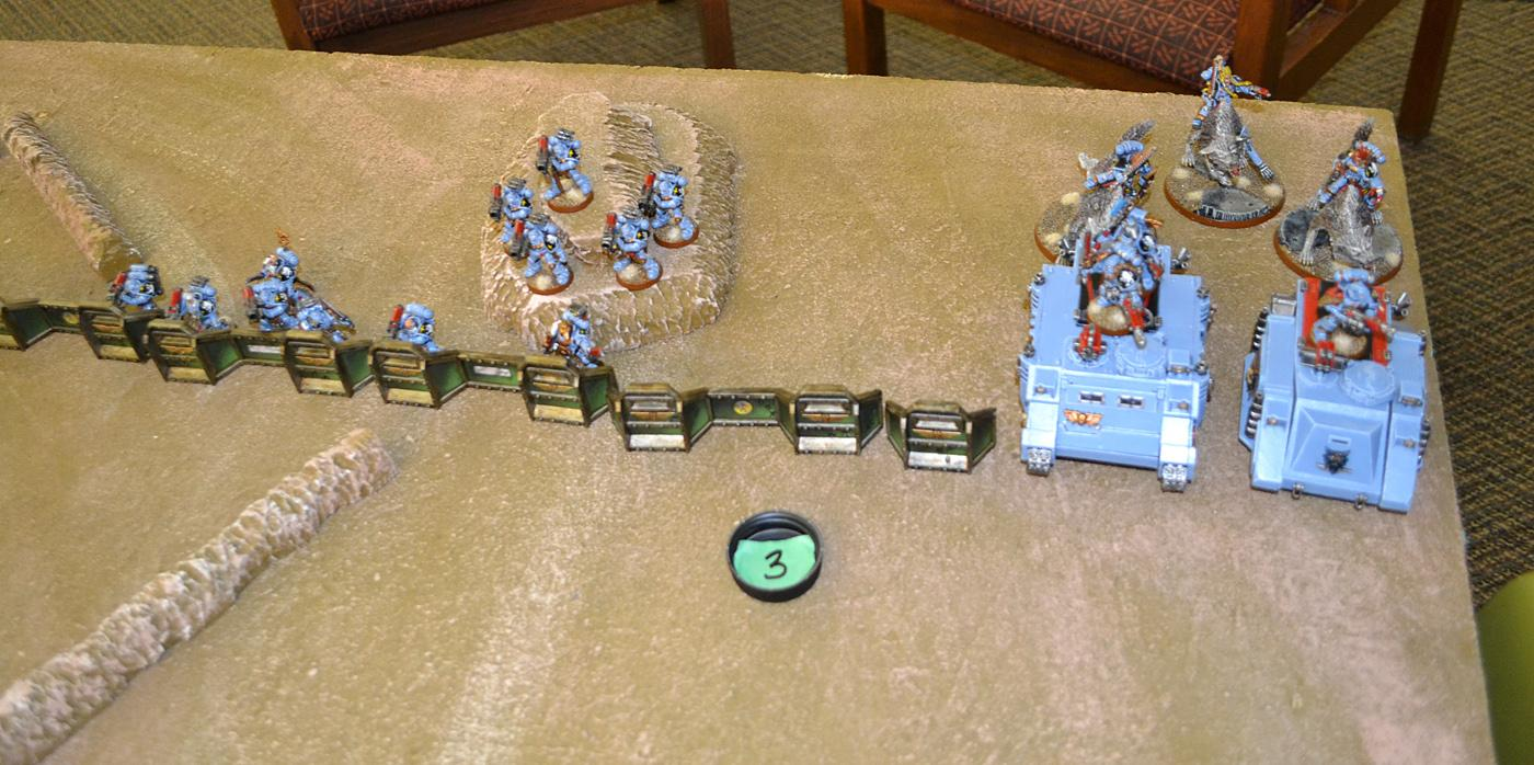 1000 Points, Battle Report, Necrons, Space Marines, Space Wolves, Warhammer 40,000