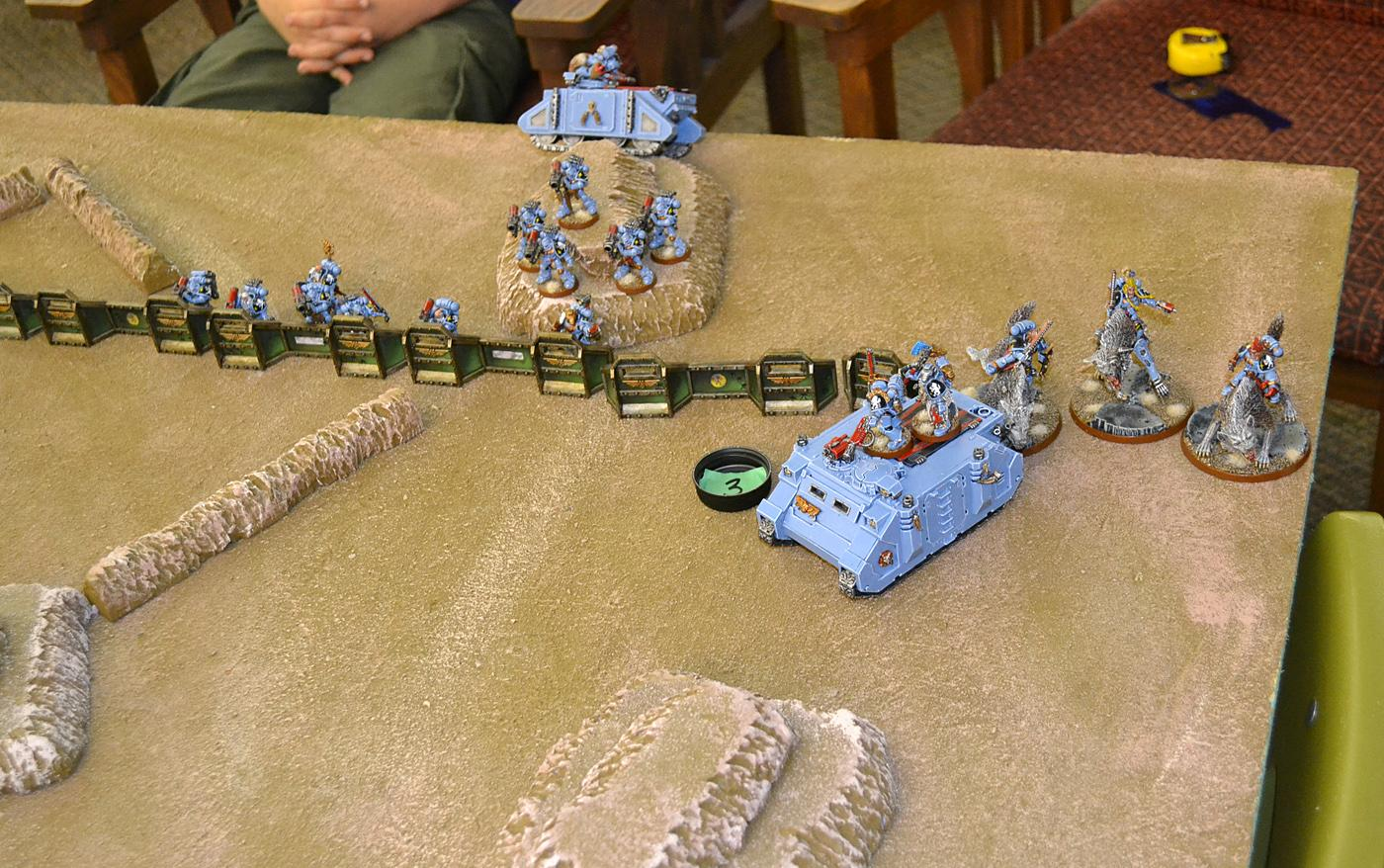1000 Points, Battle Report, Necrons, Space Wolves, Warhammer 40,000