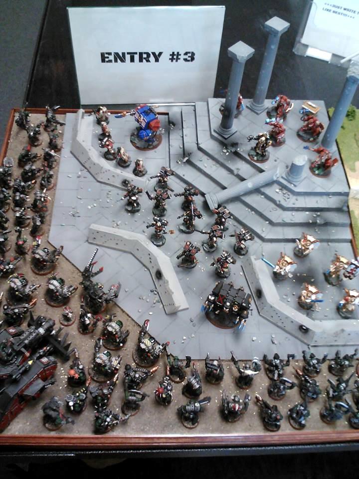 Armies On Parade, Blood Angels, Orks, Scenario, Warhammer 40,000