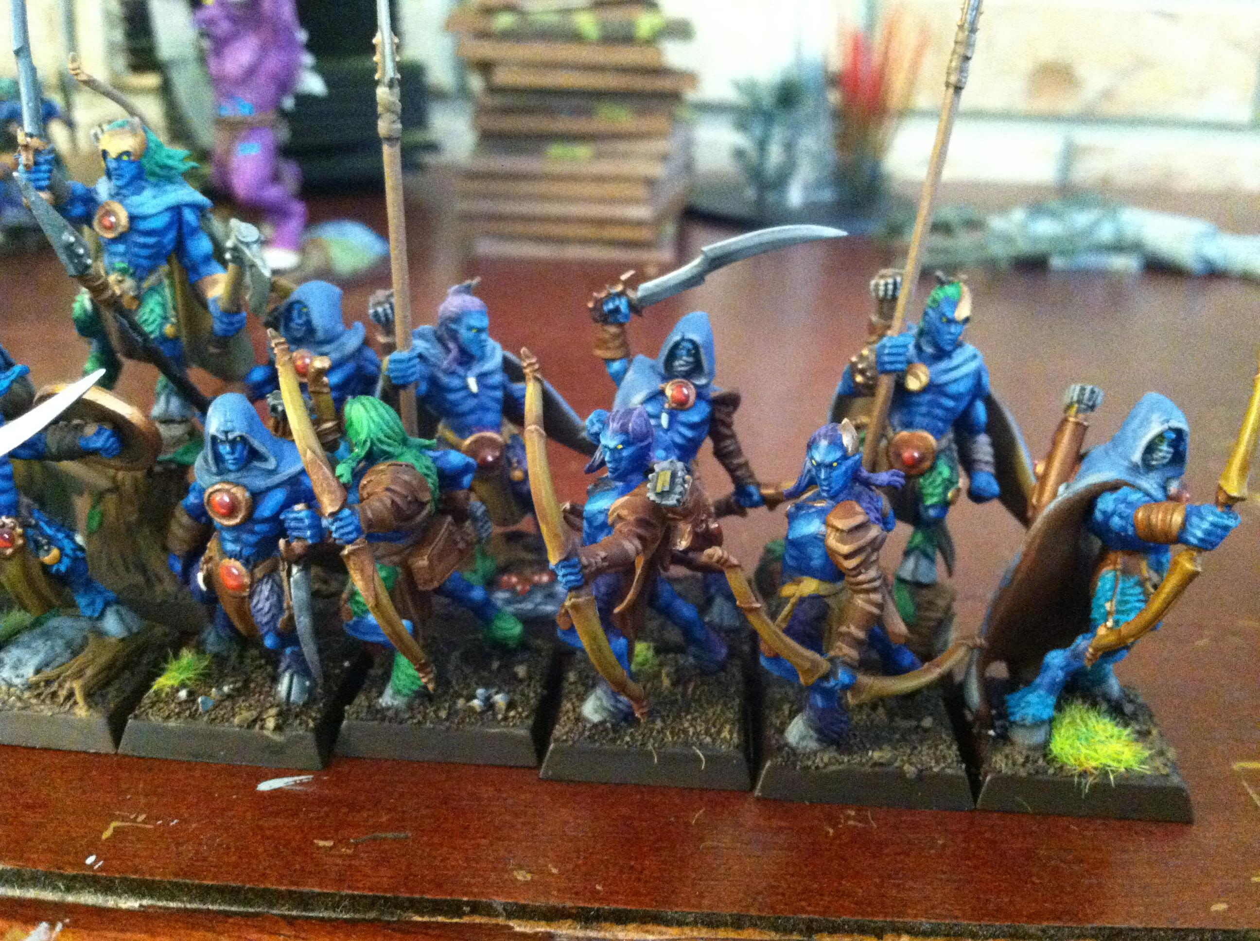 fawn skirmishers (glade guard / ungors)