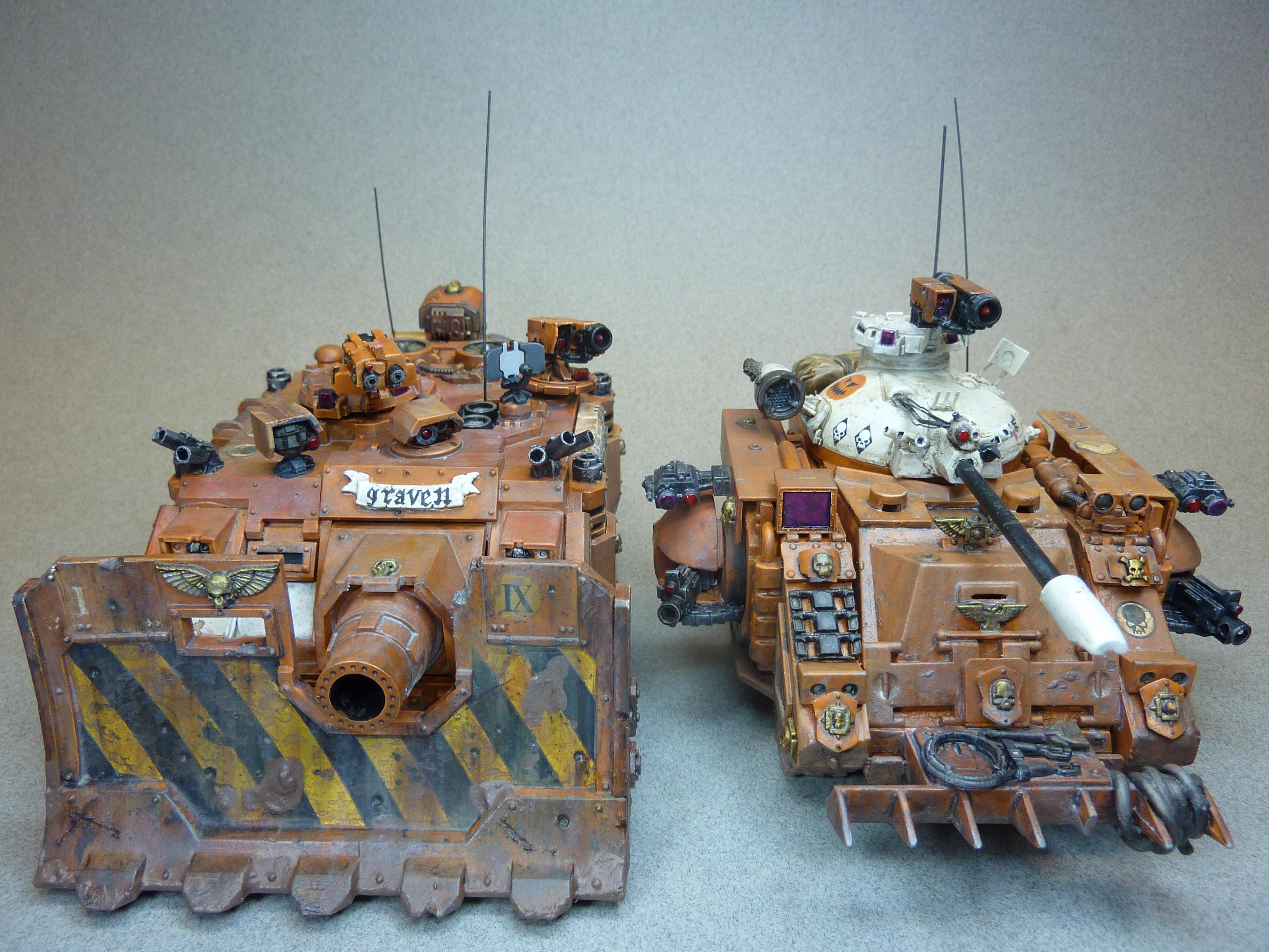 Predator, Space Marines, Vindicator, Warhammer 40,000