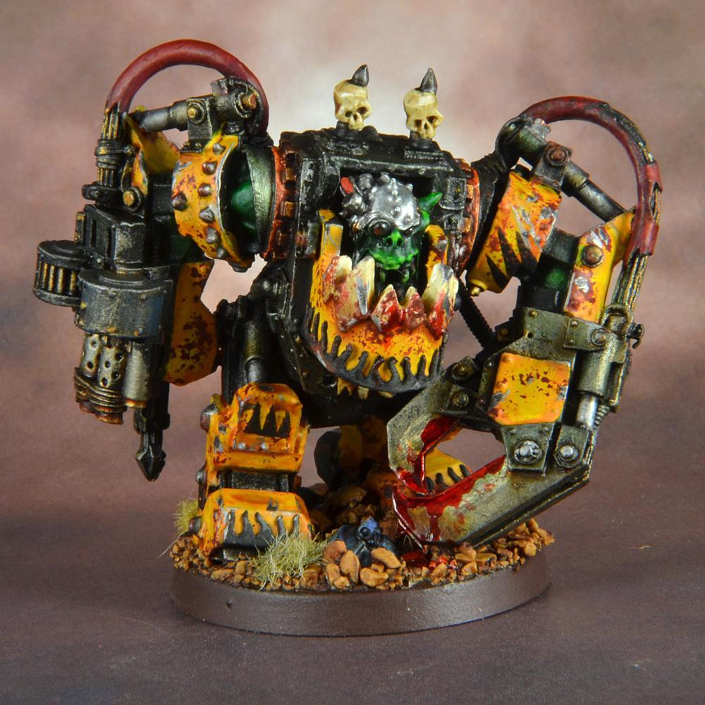 Bad Moons, Ghazghkull Thraka, Meganob, Orks, Warhammer 40,000