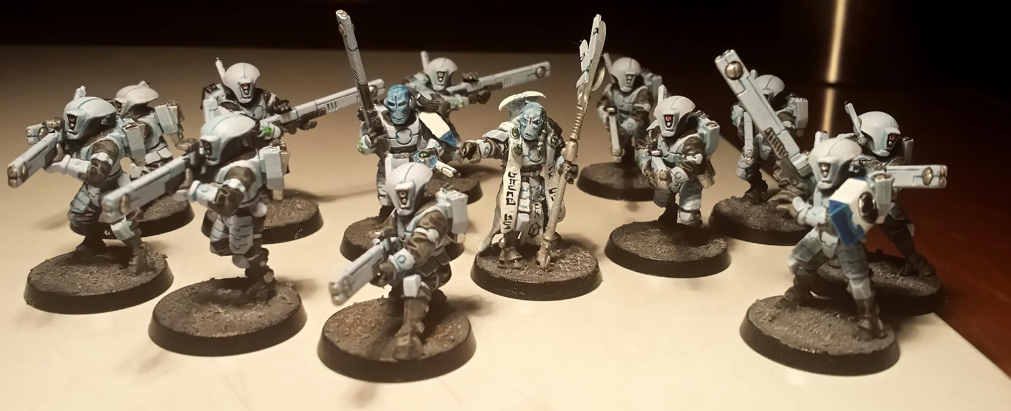 Fire Warriors, Tau, Firewarriors