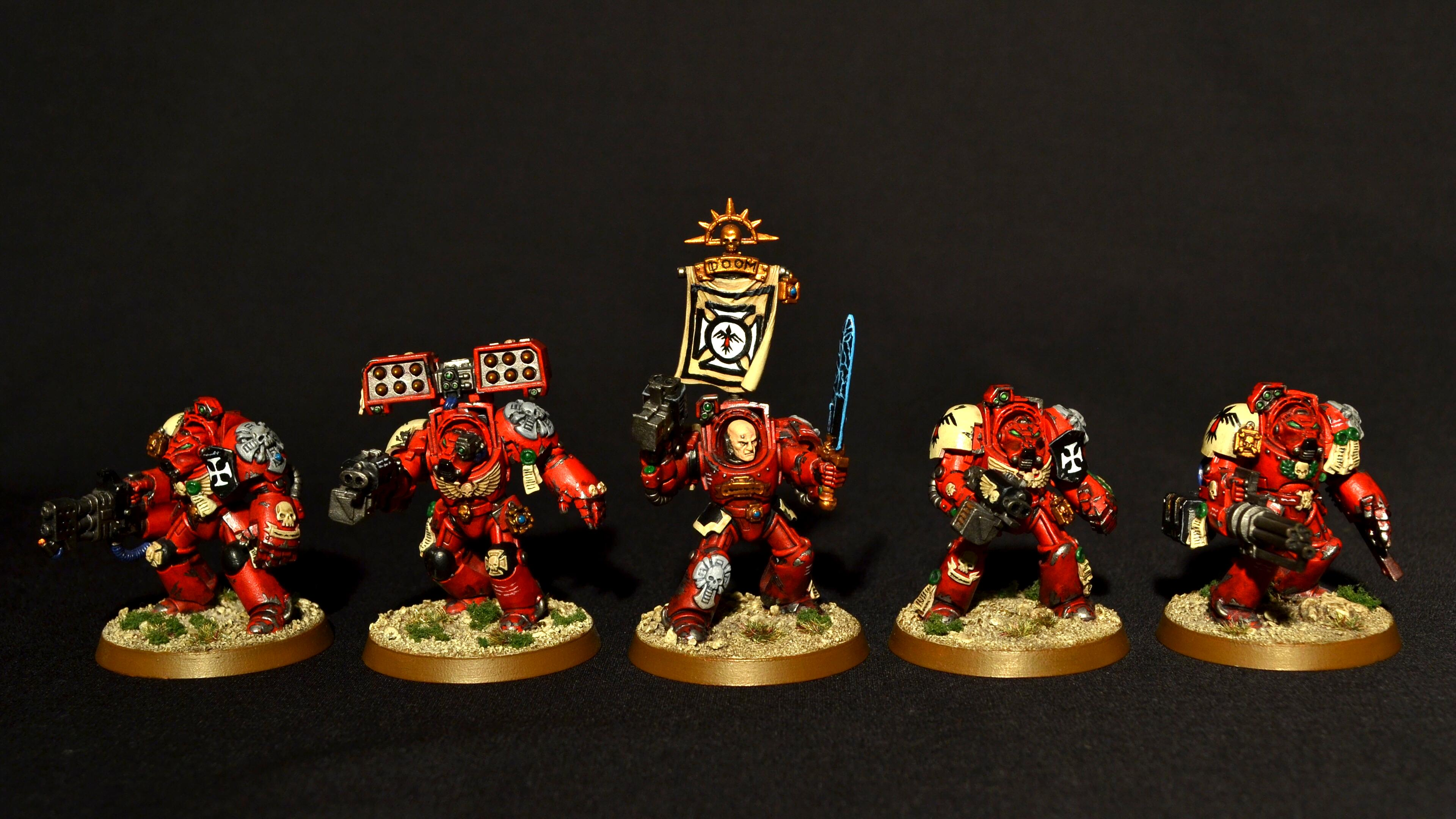 Blood Ravens, Space Marines, Terminator Armor
