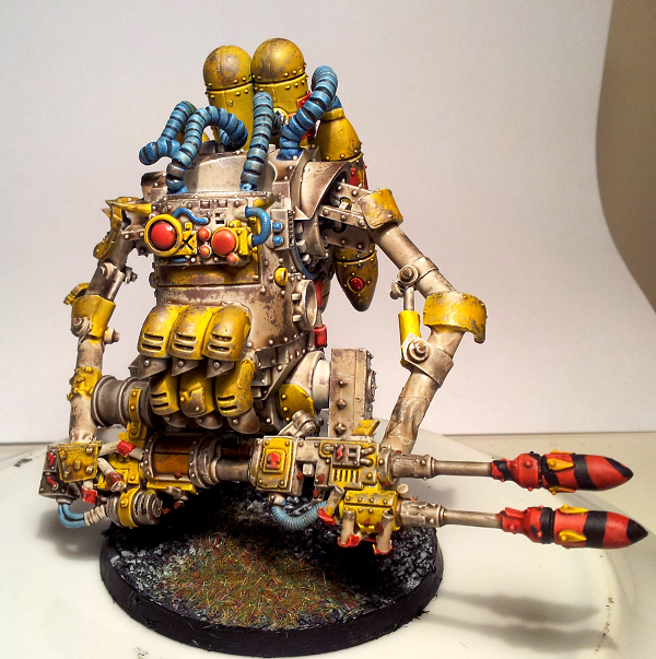 Bad Moons, Deff Dread, Orks, Weathered