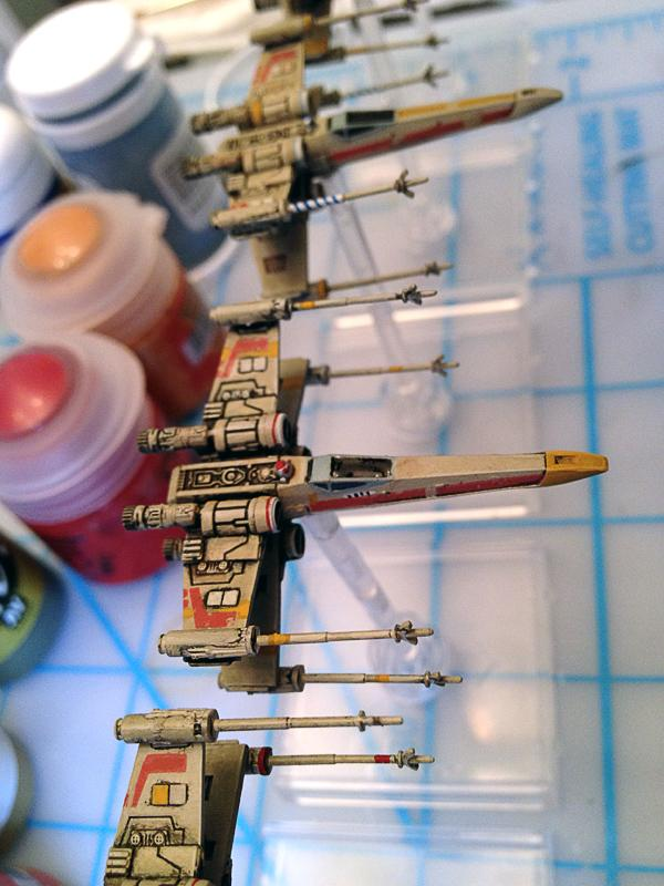Custom, Fantasy Flight, Miniatures Game, Star Wars, X-Wing