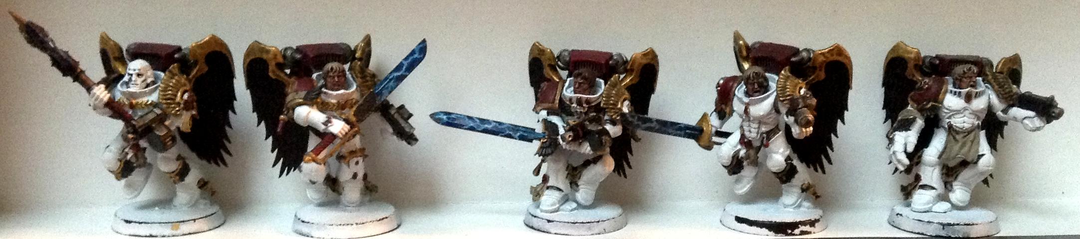 Angels Encarmine, Blood Angels, Sanguinary Guard, Warhammer 40,000