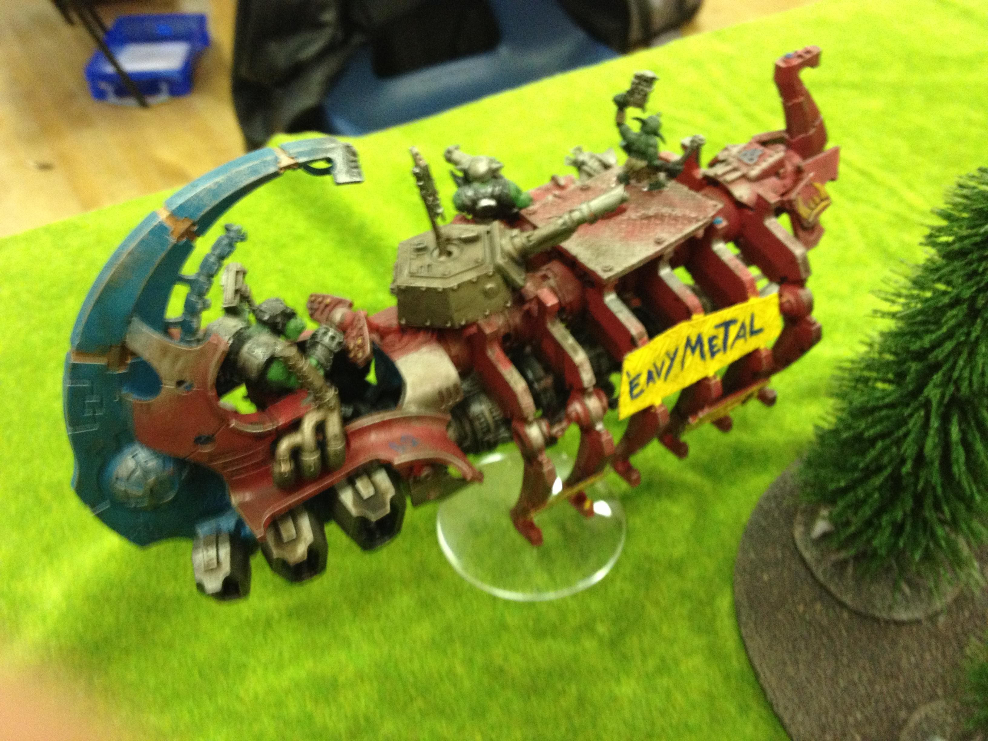 Big Mek, Looted Wagon, Orks