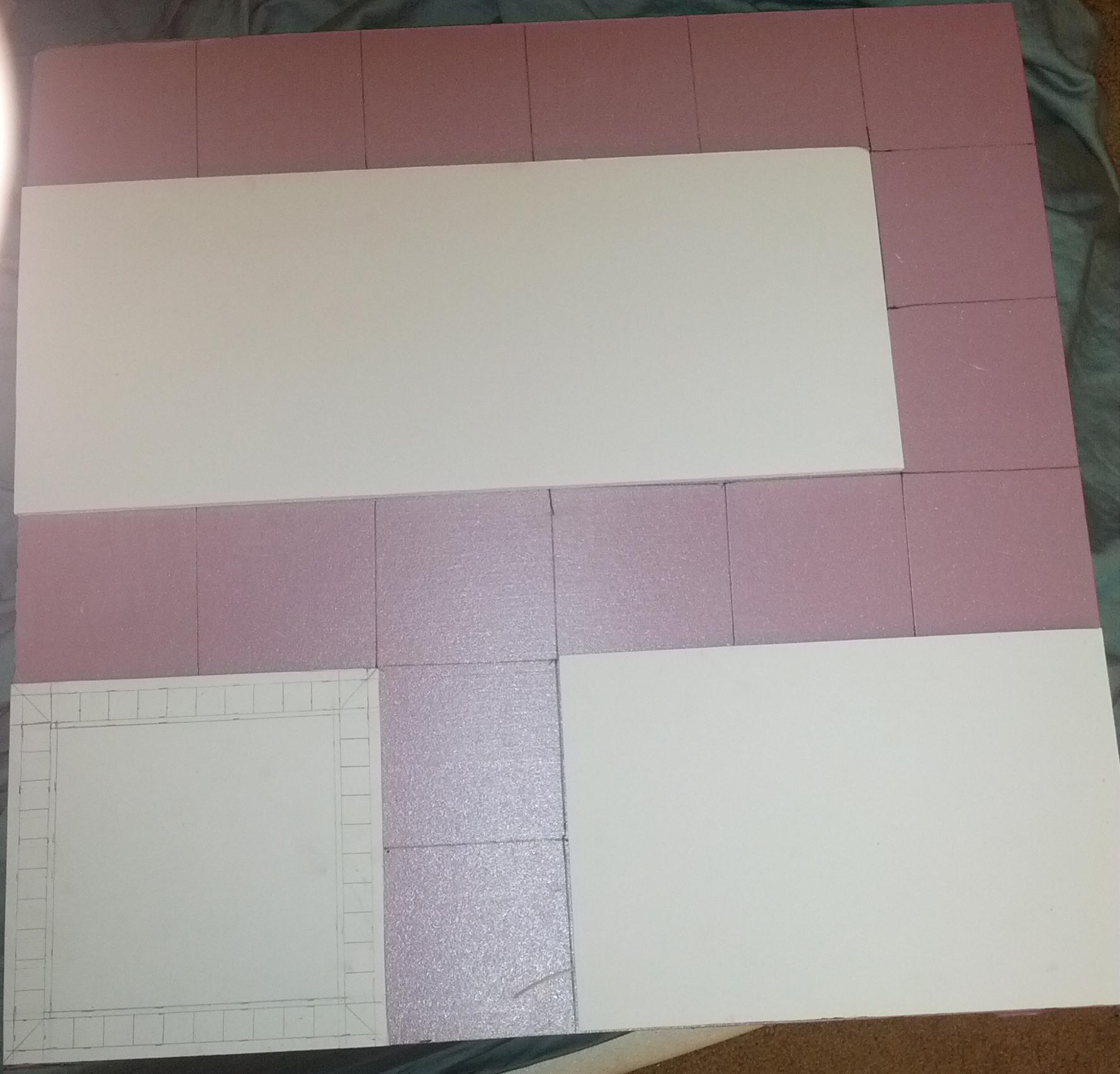 Initial Layout and Drawing