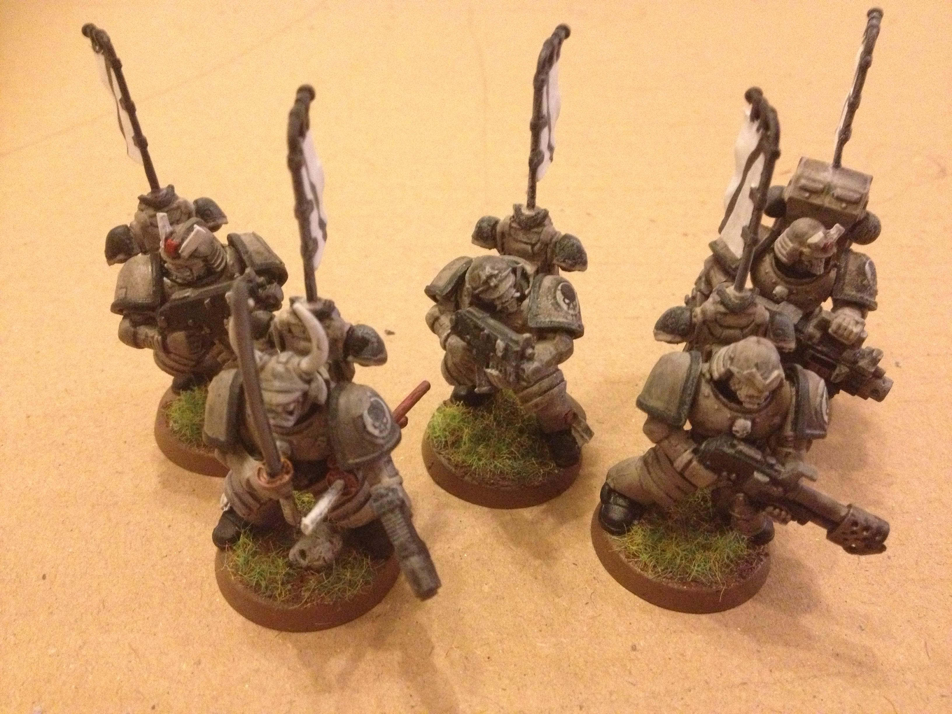 space marines samurai