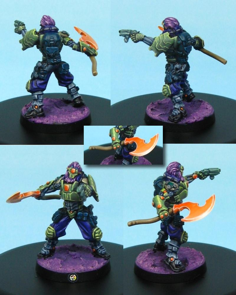 Combined Army, Dakka Painting Challenge, Infinity, Treitak Spec-ops, Two Tickets To Paradiso