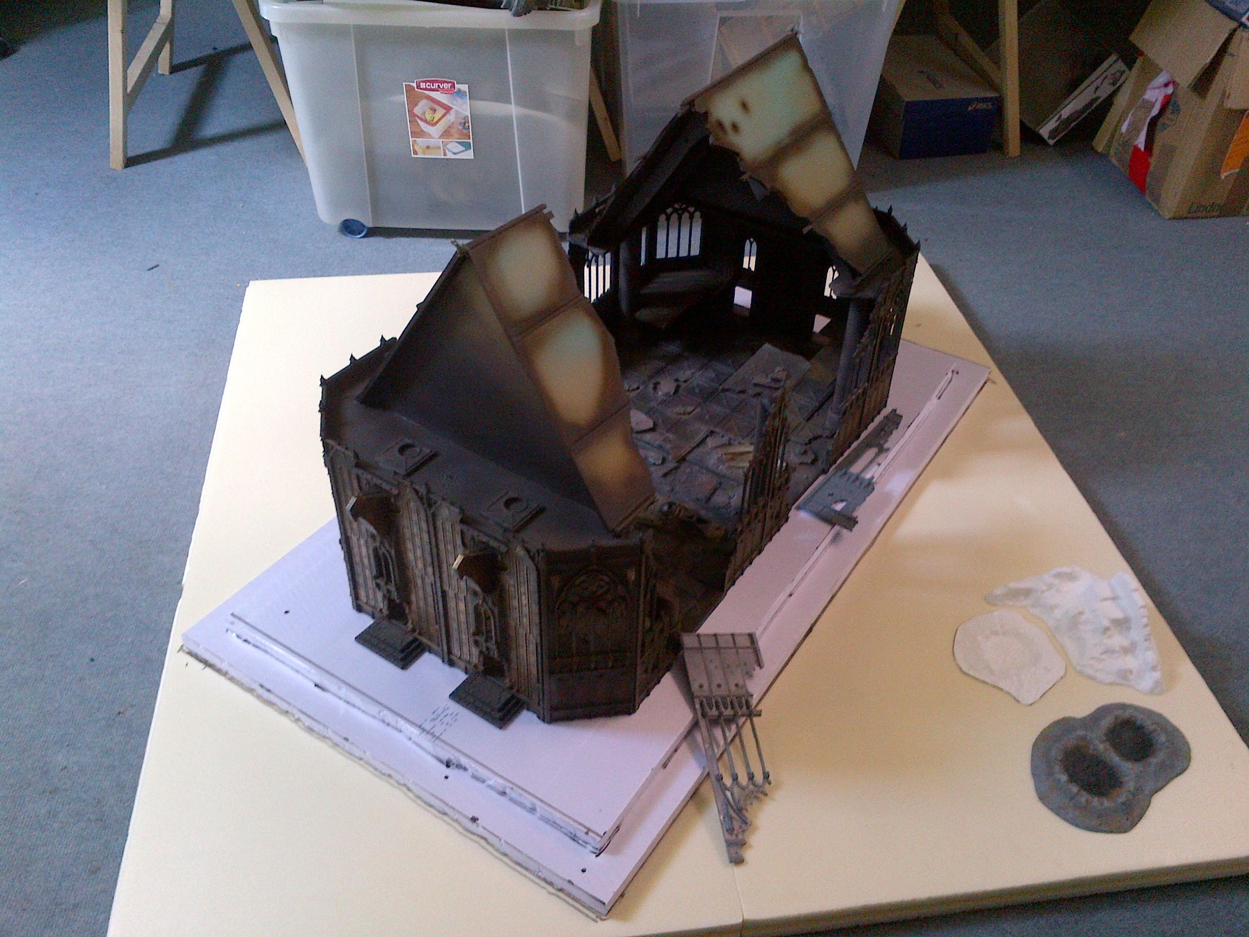 Cathedral, Cities Of Death, City, Shrine, Terrain, Urban