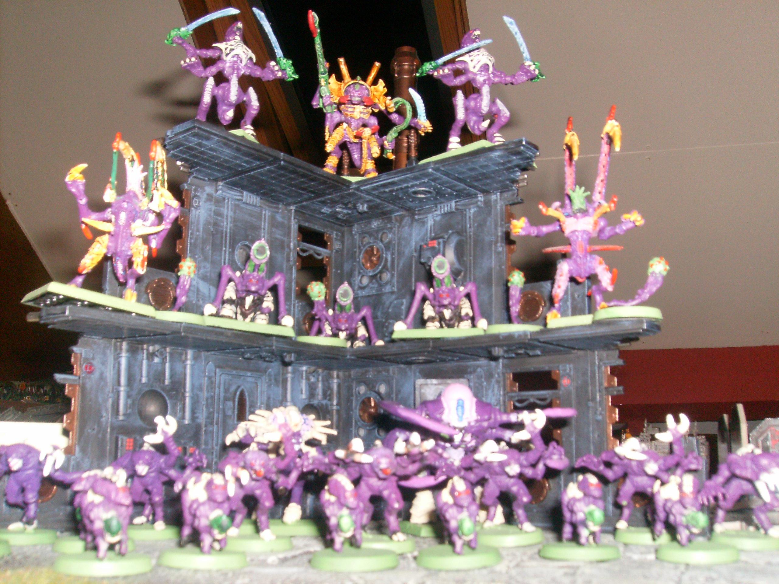 Out Of Production, Purple, Tyranids