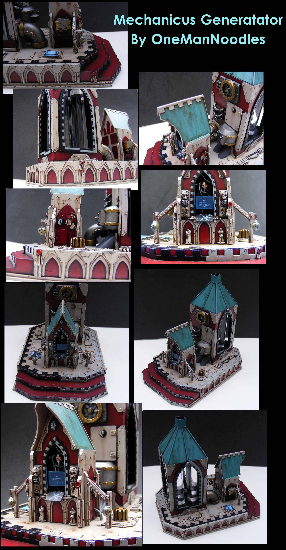 Adeptus Mechanicus, Mechanicus, Shrine, Terrain, Warhammer 40,000