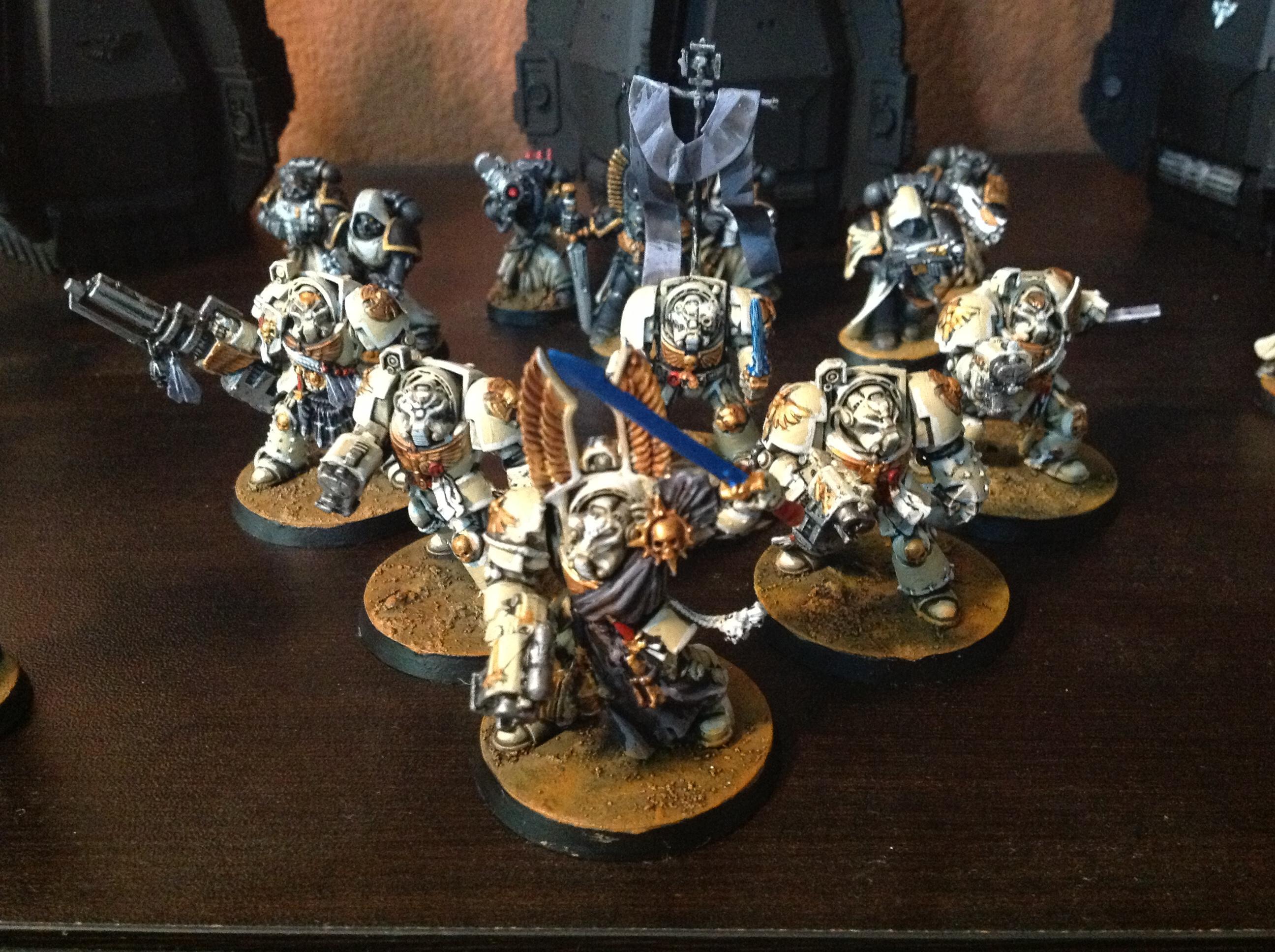 Archangels, Space Marines, Terminator Armor, Thundergod