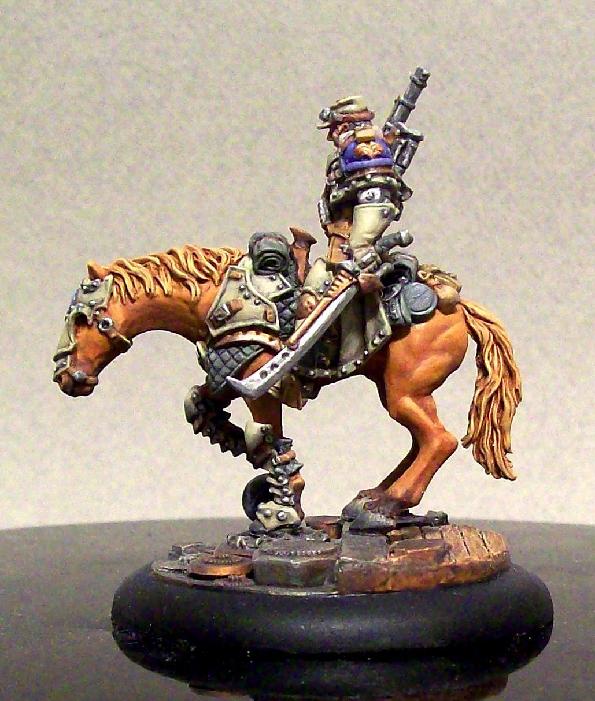 Cavalry, Cygnar, Horse, Kraye, Mounted, Warcaster, Warmachine