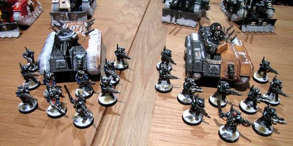 Two Grenadier Squads