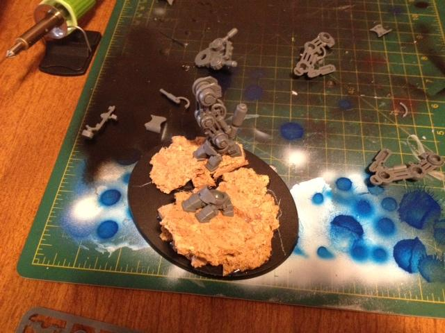 Get In The Game Painting Blog, Warp Dust Creations