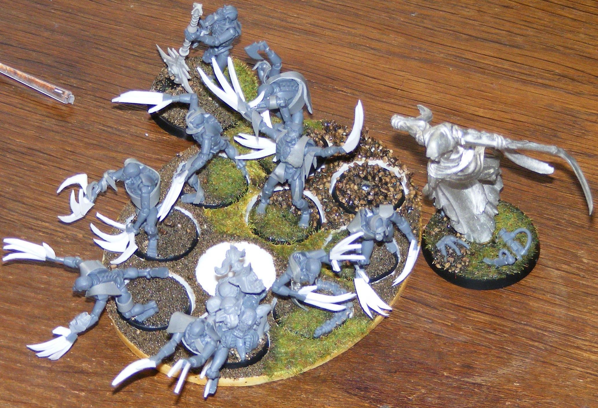Necrons, Warhammer 40,000, Work In Progress
