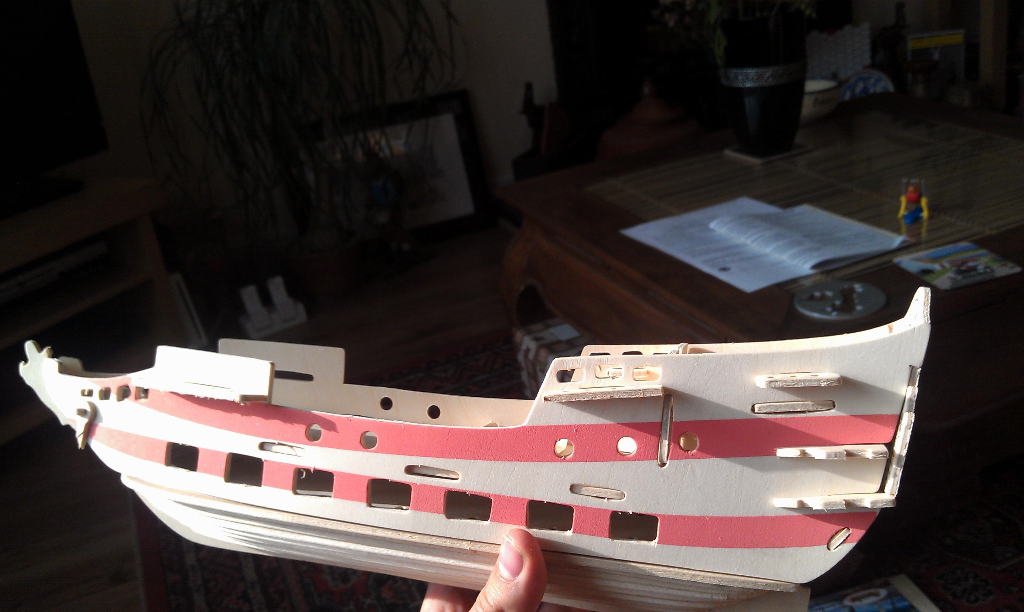 WIP Pirate Ship Battlewagon