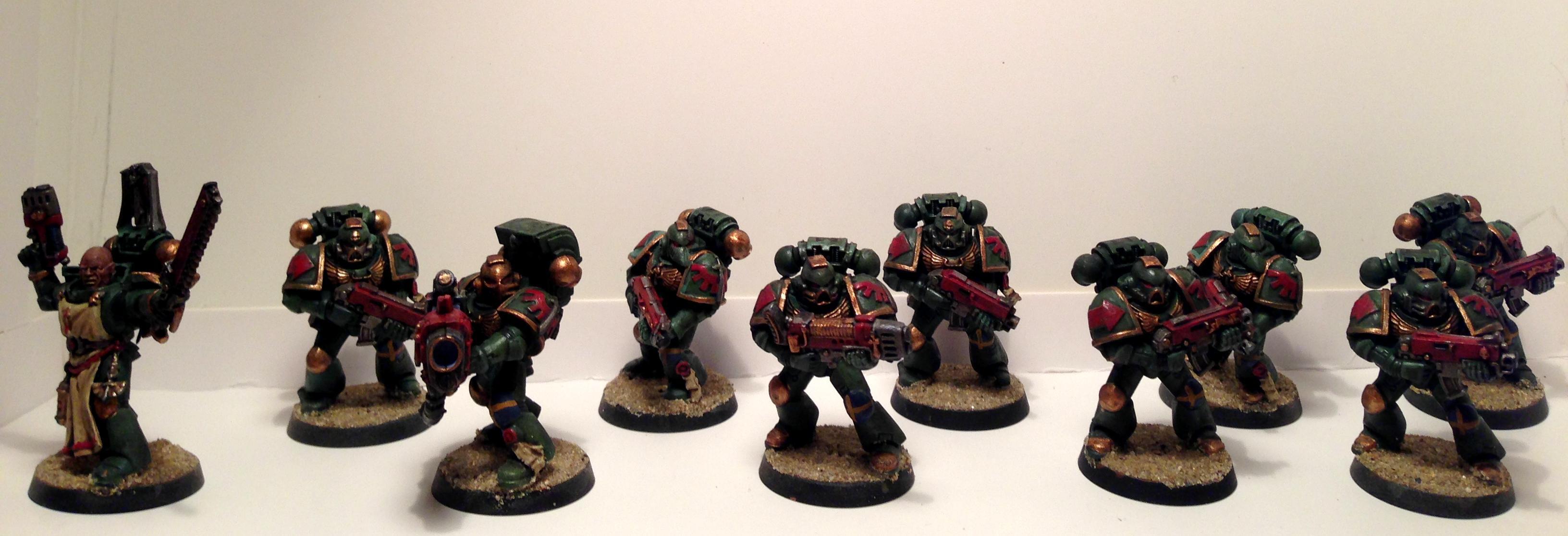 Dark Angels, Plasma, Space Marines, Tactical Squad