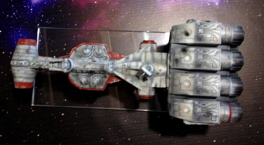Blockade Runner, Correlian Corvette, Custom, Fantasy Flight, Miniatures Game, Tantive Iv, X-Wing