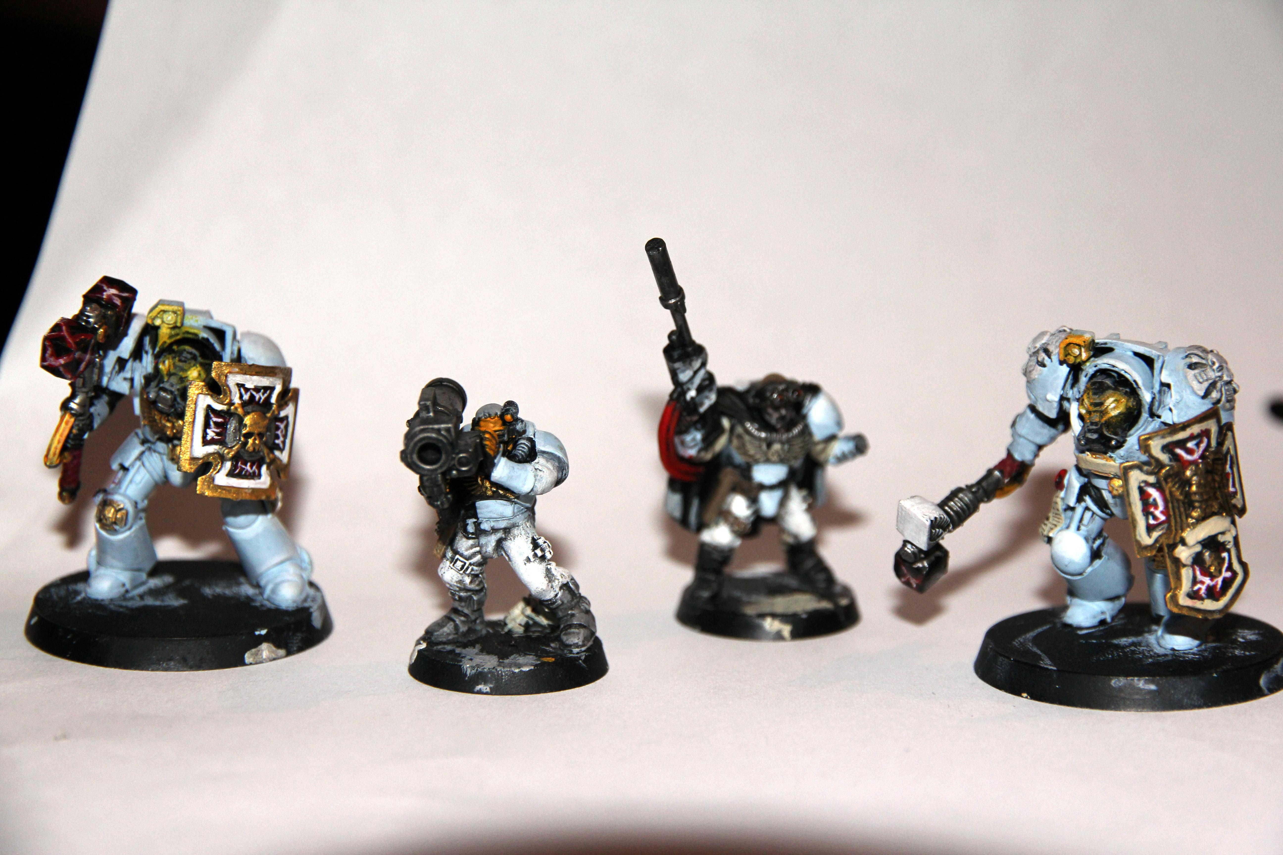 Camouflage, Missile Launcher, Scouts, Snipers, Space Wolfes, Storm Shields, Sw, Terminator Armor, Thunder Hammers, Warhammer 40,000