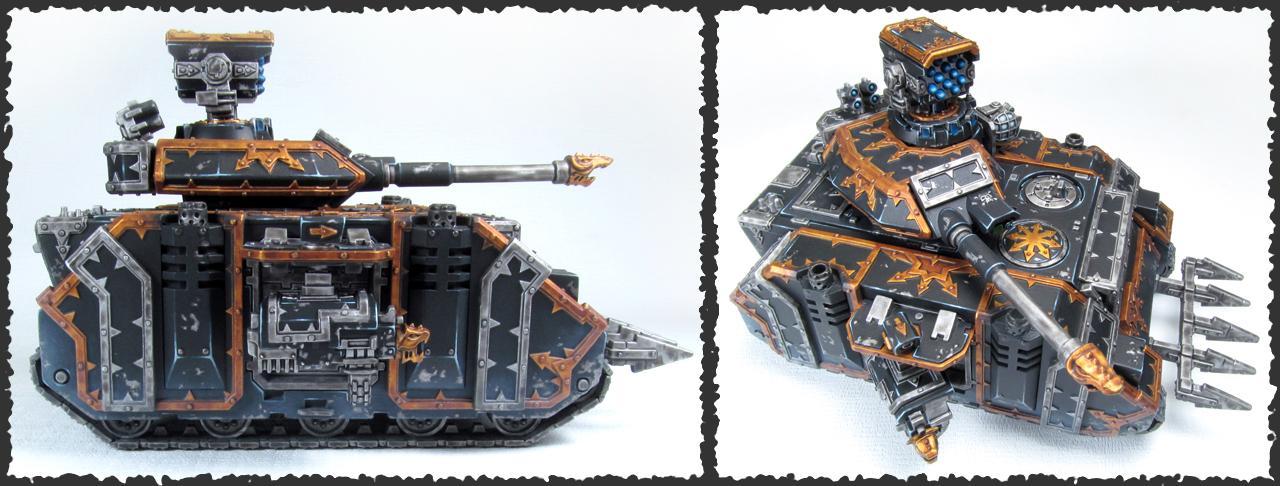 Black Legion, Chaos Predator, Scratch Build