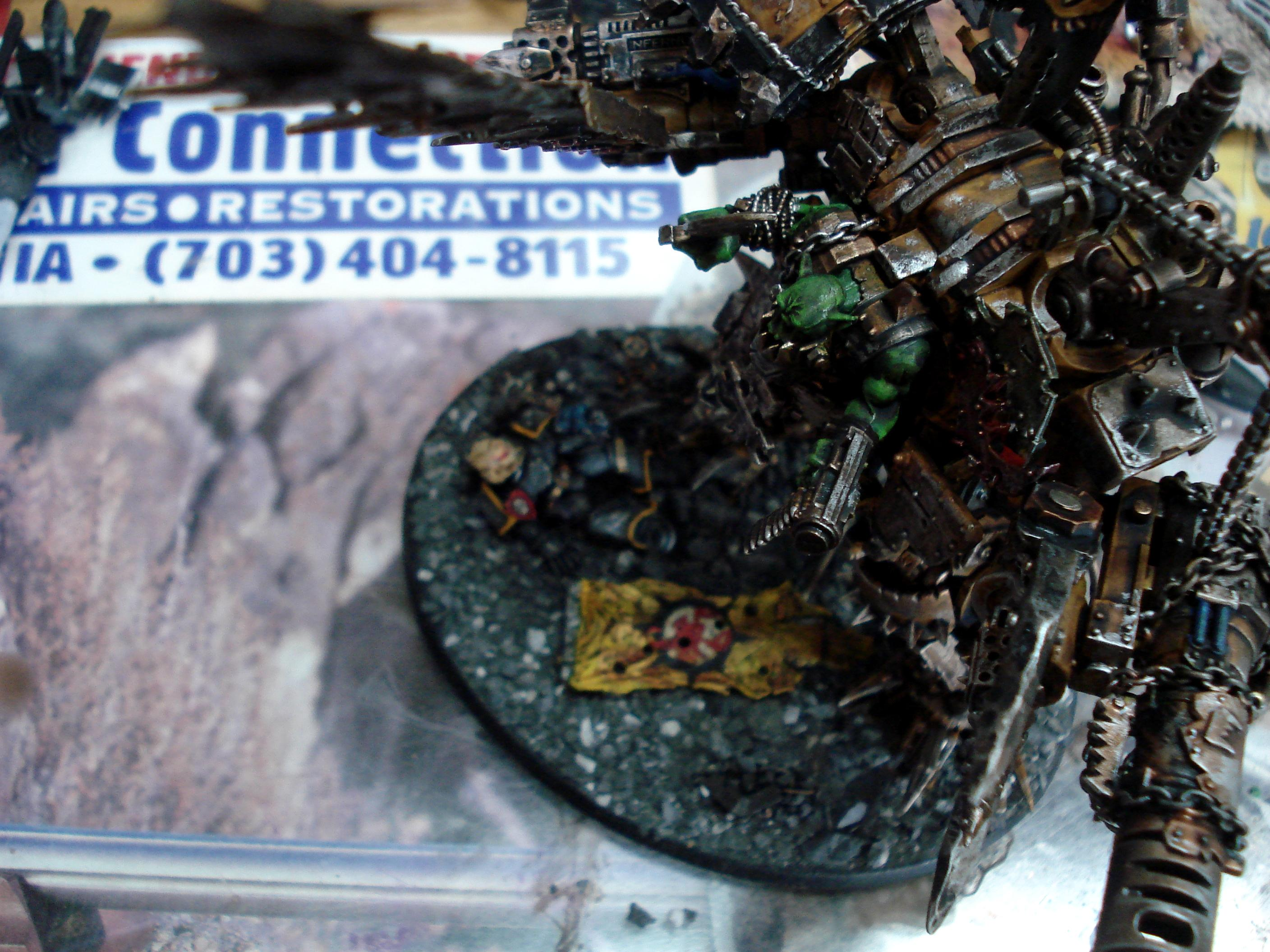 Bad, Claw, Comission, Custom, Deff, Dreadnought, Field, Force, Kustom, Moons, Orks, Scrap, Space, Space Marines, Truk
