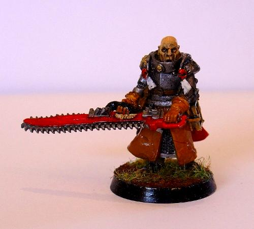 Confessor, Conversion, Painted, Pendix, Priest, Warhammer 40,000