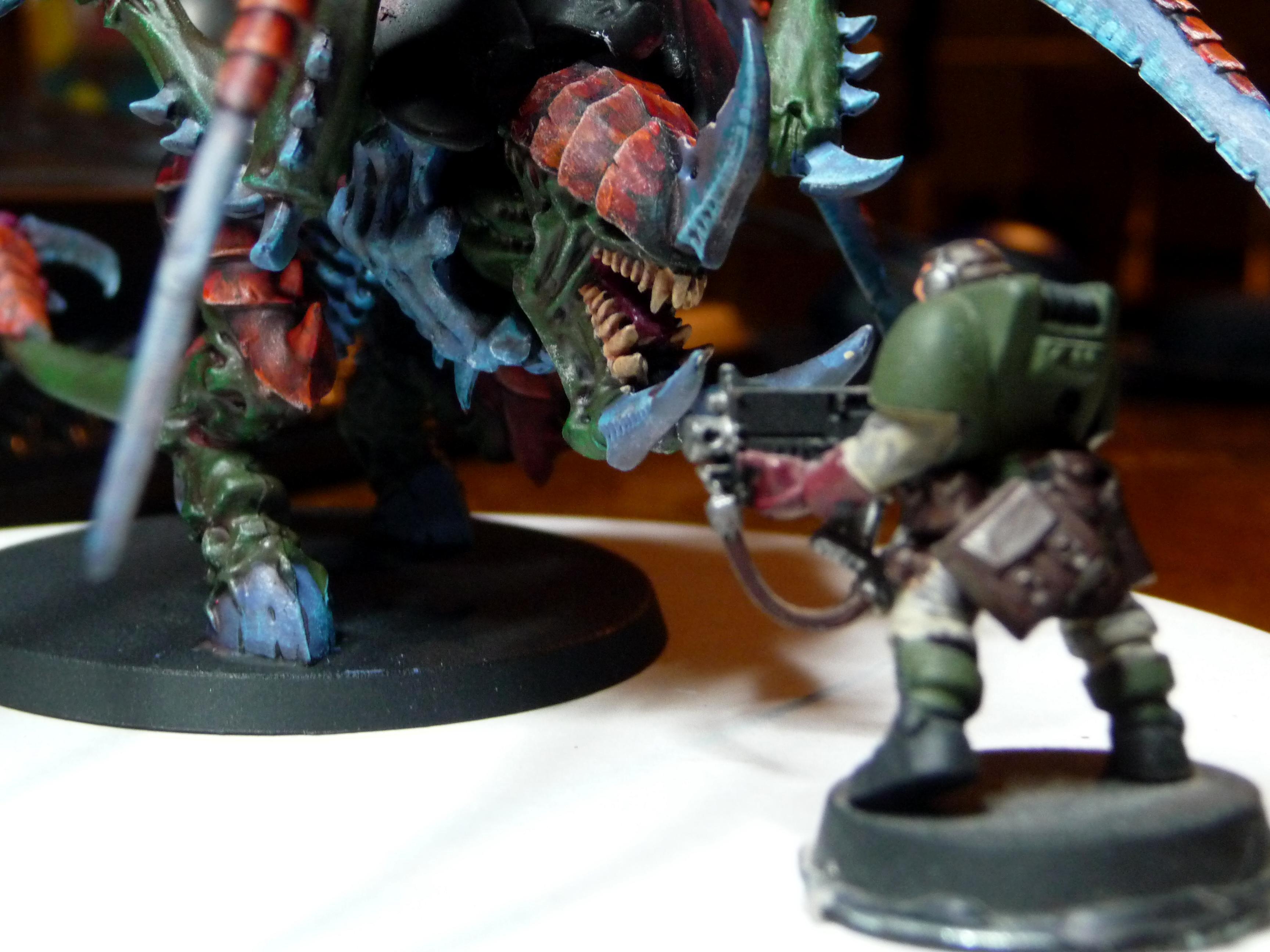 Carnifex, Green Tyranids, Nids, Tyranids