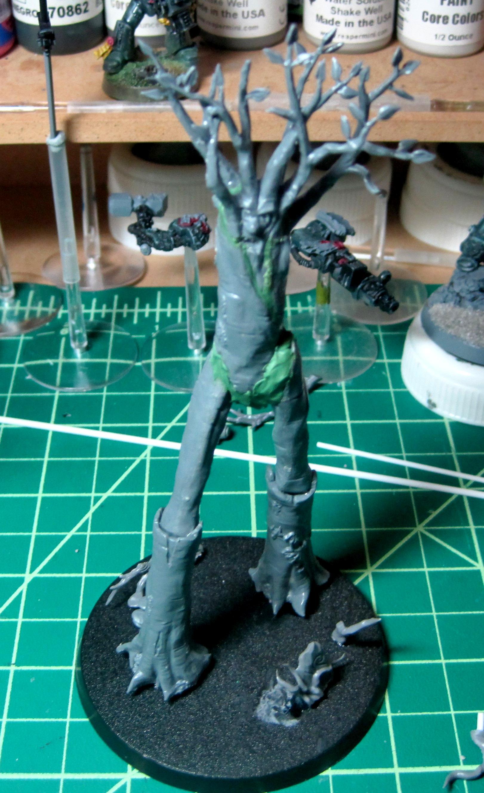 Eldar, Exodites, Treelord, Warhammer 40,000, Wood Eldar, Wraithlord