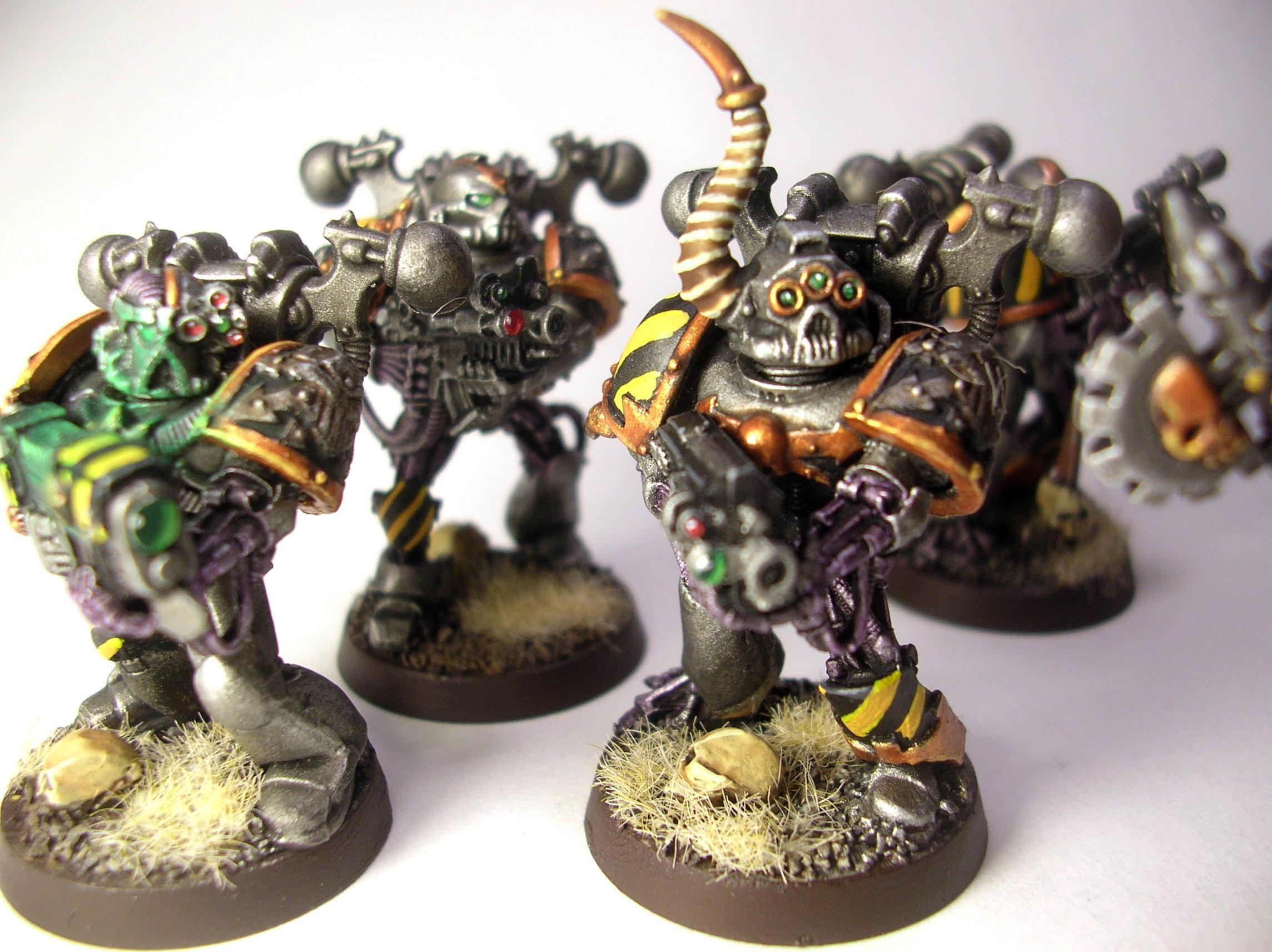 Chaos, Iron Warriors, Plague Marines
