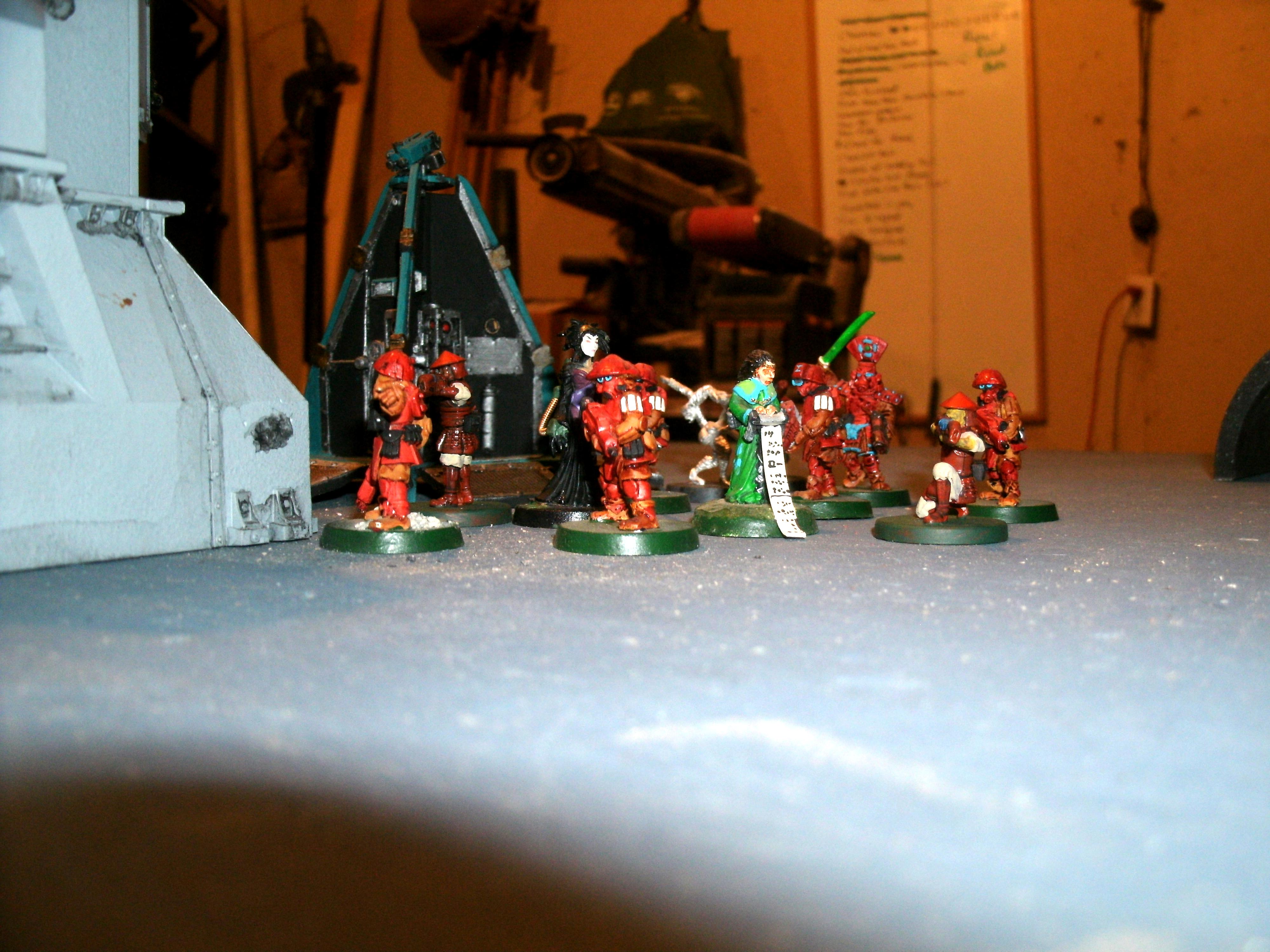 NSF troops