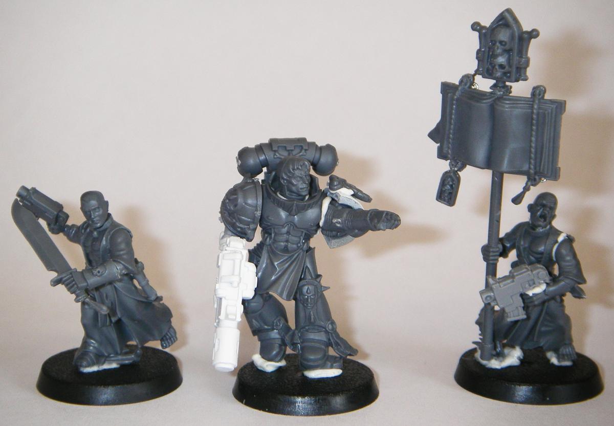 Blood Angels, Captain Tycho, Chapter Serfs, Conversion, Serf, Serfs, Space Marines, Tycho, Work In Progress