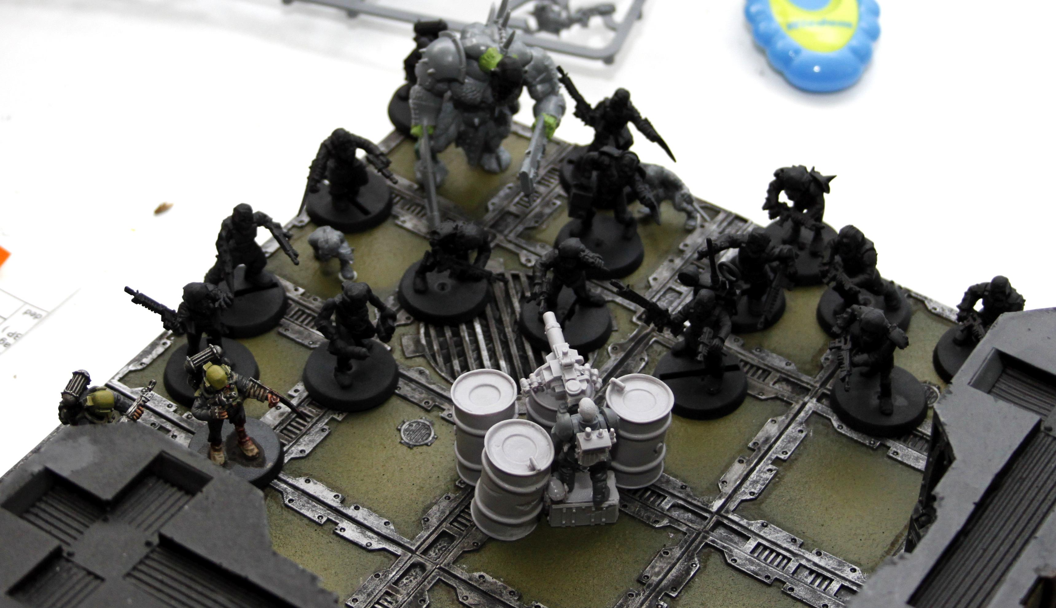 Zombies Diorama