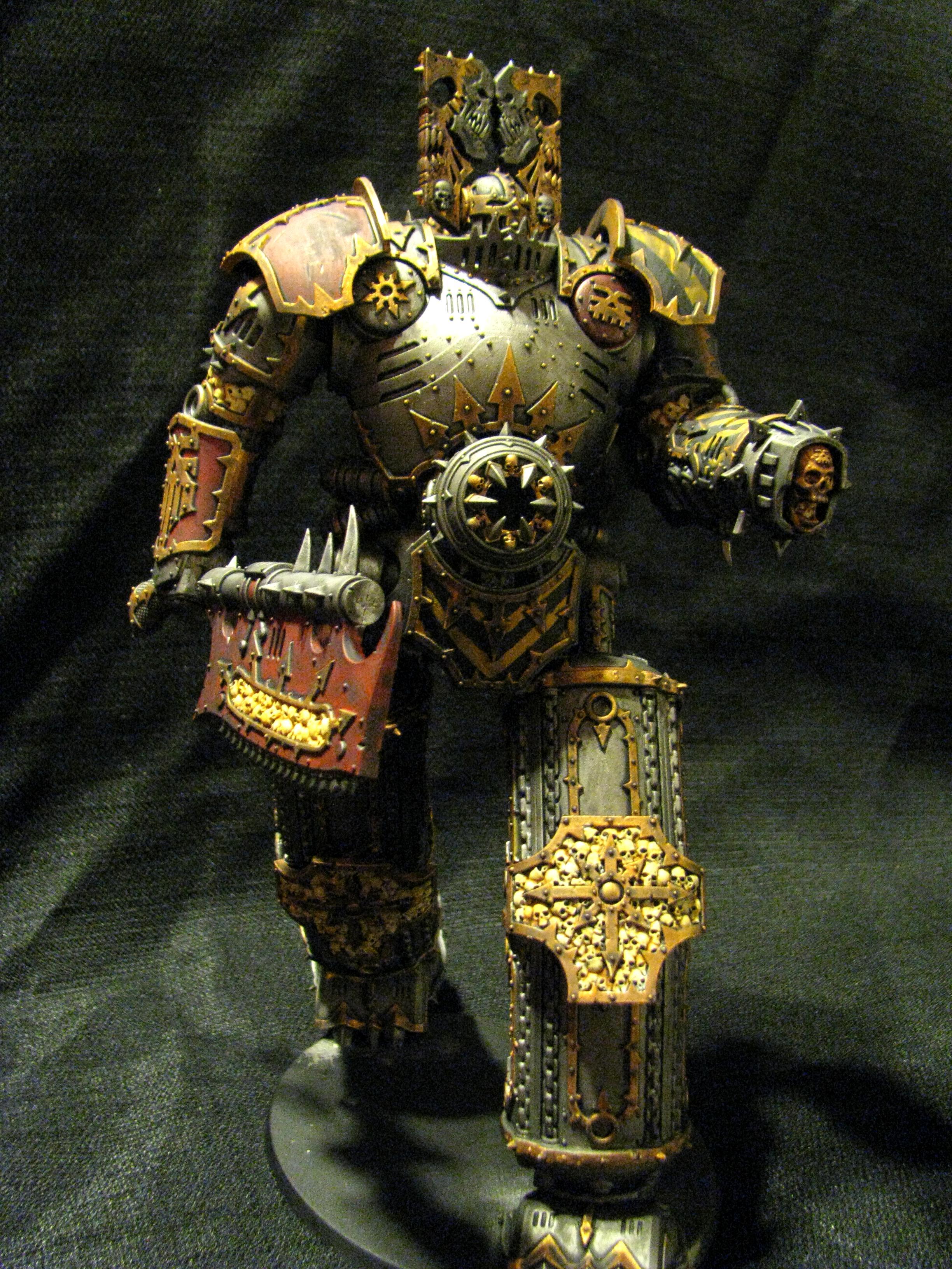 Chaos, Conversion, Daemons, Dreadlord Of Skulls, Khorne Lord Of Skulls, Knights, Titan, Walker