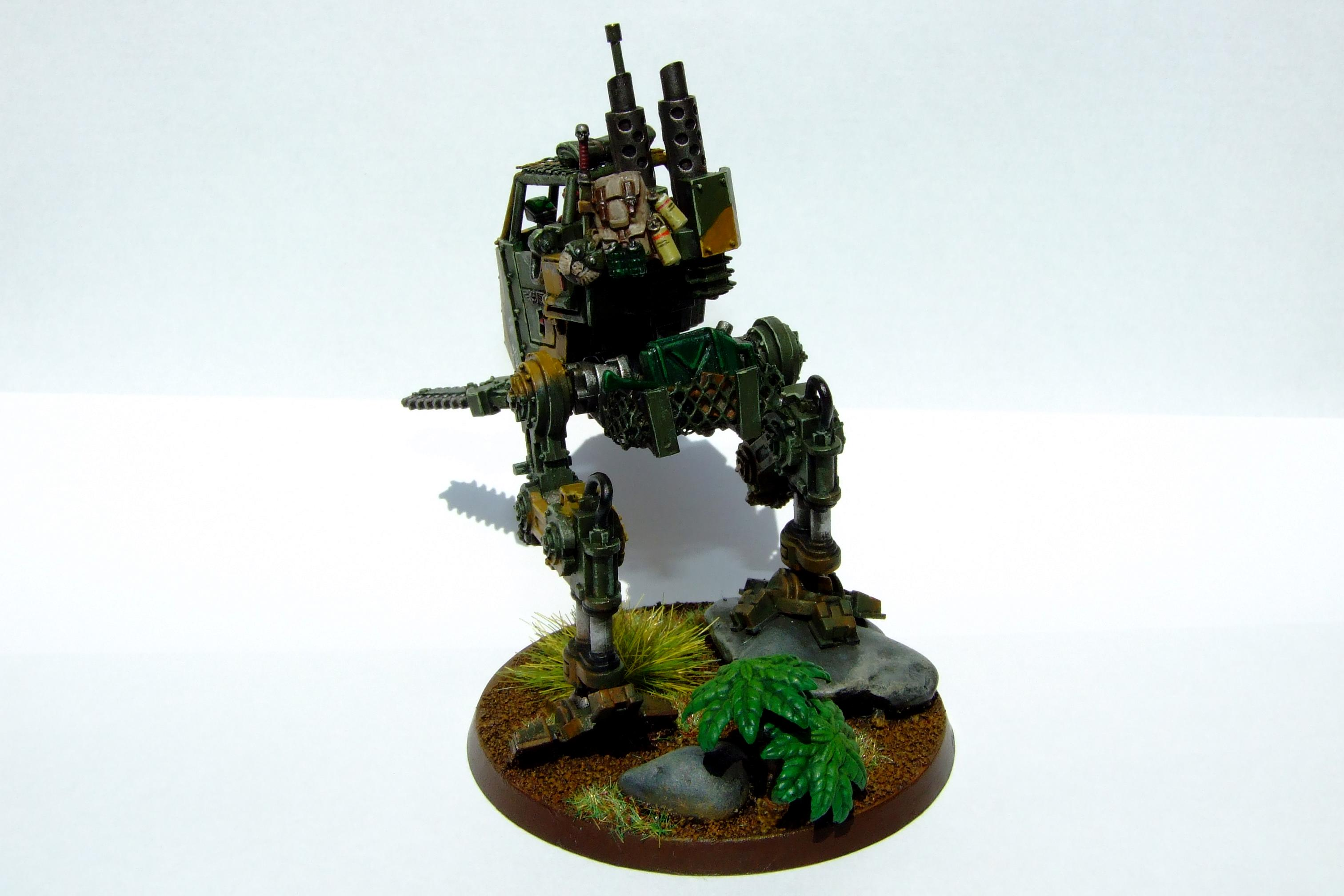 Camouflage, Camoufluage, Catachan, Imperial Guard, Jungle Fighter, Junlge, Sentinel, Walker, Warhammer 40,000