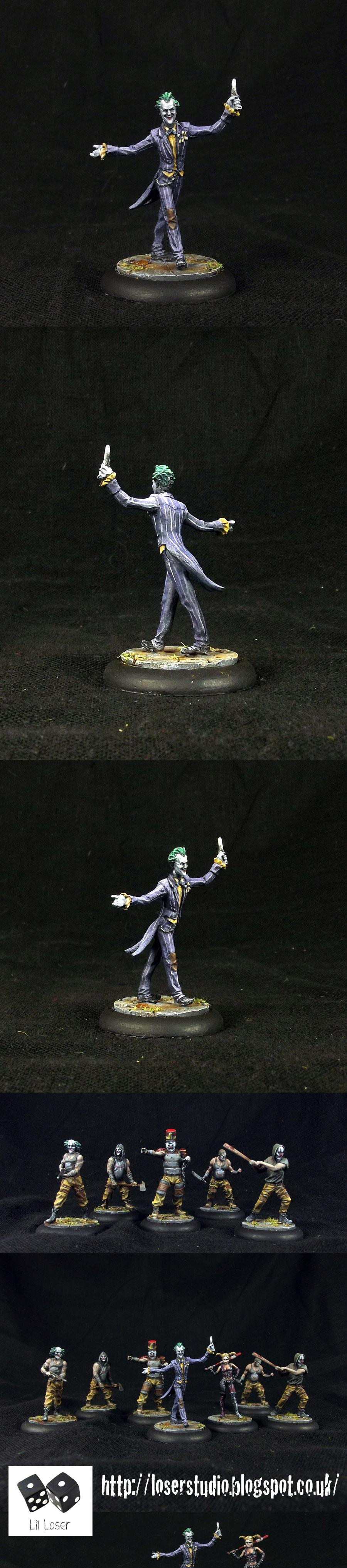 Arkham Asylum, Batman, The Joker, Why So Serious?