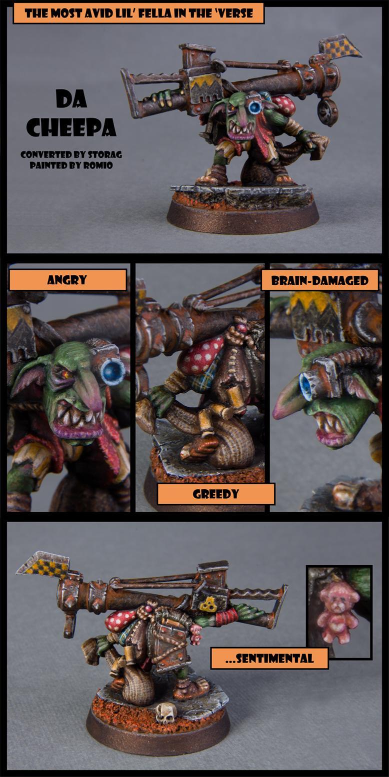 Conversion, Da Cheepa, Grots, Lootas, Myway, Storag, Warhammer 40,000, Warhammer Fantasy