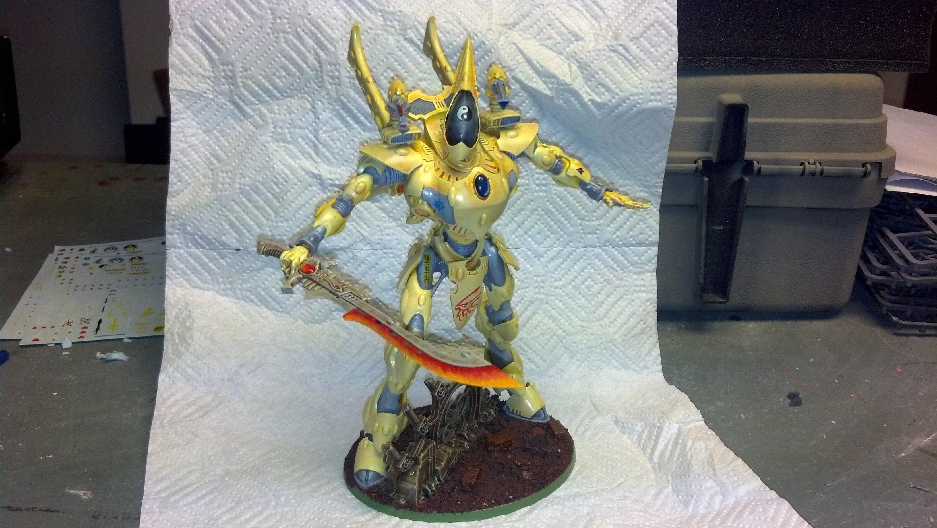 Eldar, Titan, sword
