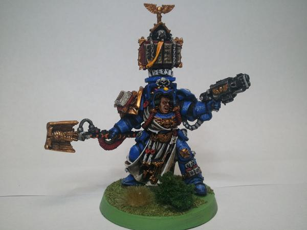 Librarian, Sexy, Space Marines, Ultramarines