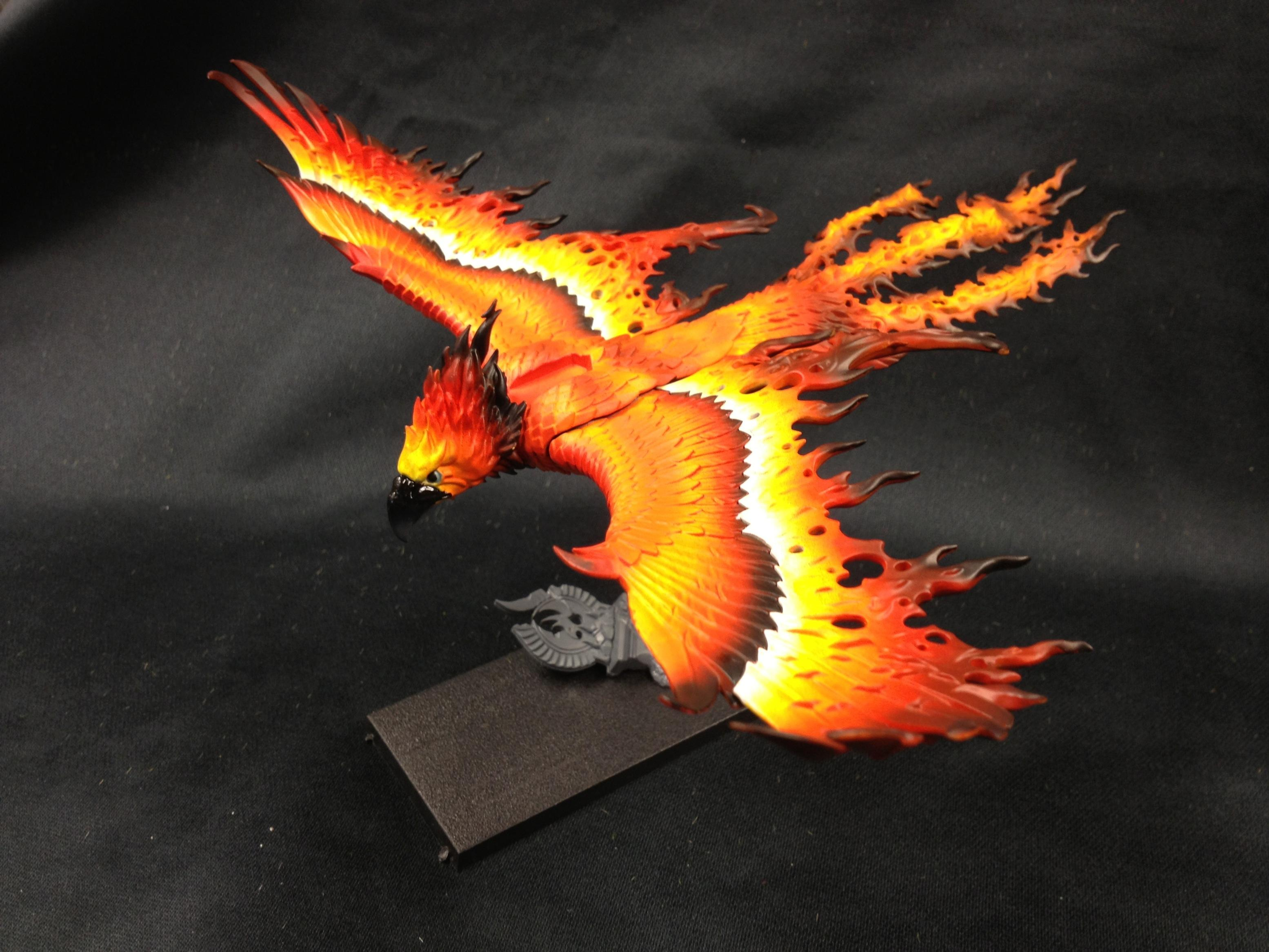 Flamespyre Phoenix, Frostfire Phoenix, High Elves, Warhammer Fantasy