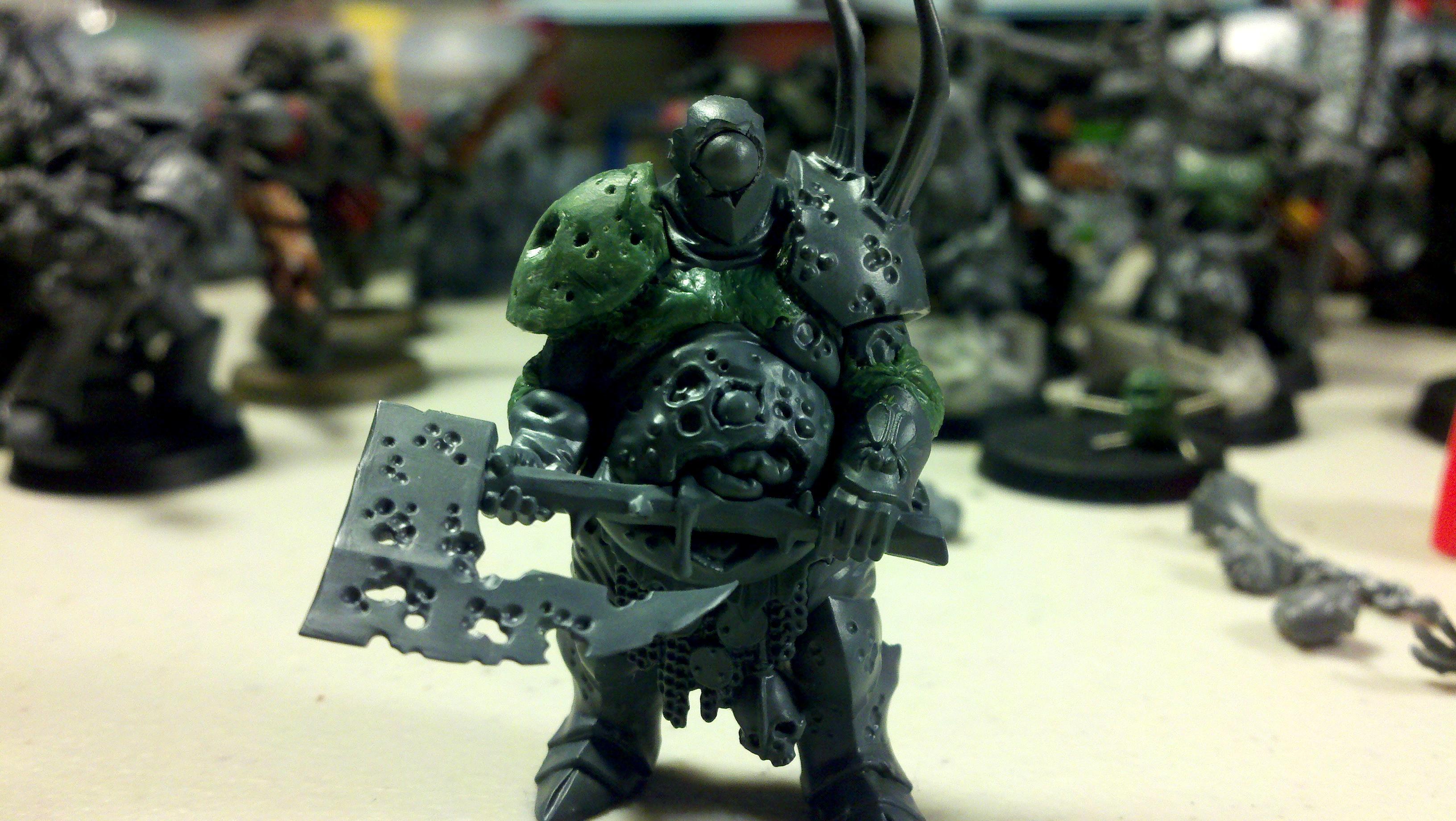 Chaos Lord, Nurgle, Chaos Lord of Nurgle WIP