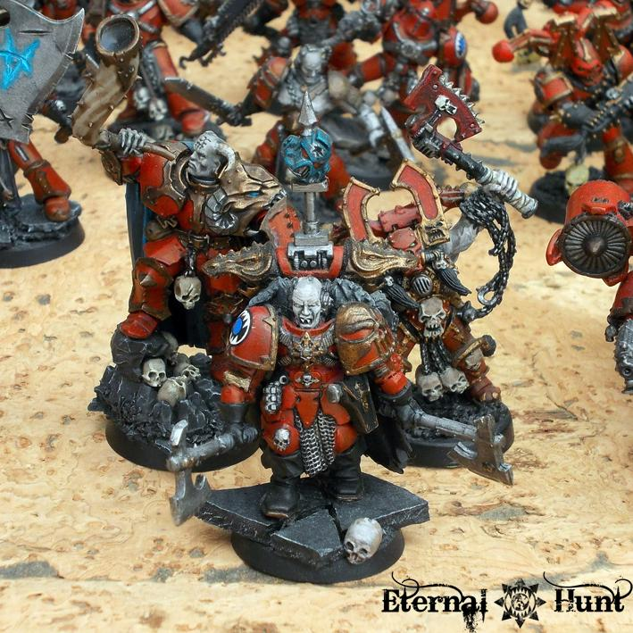 Army, Chaos, Chaos Space Marines, Conversion, Khorne, Khorne's Eternal Hunt, Showcase, Warhammer 40,000, World Eaters