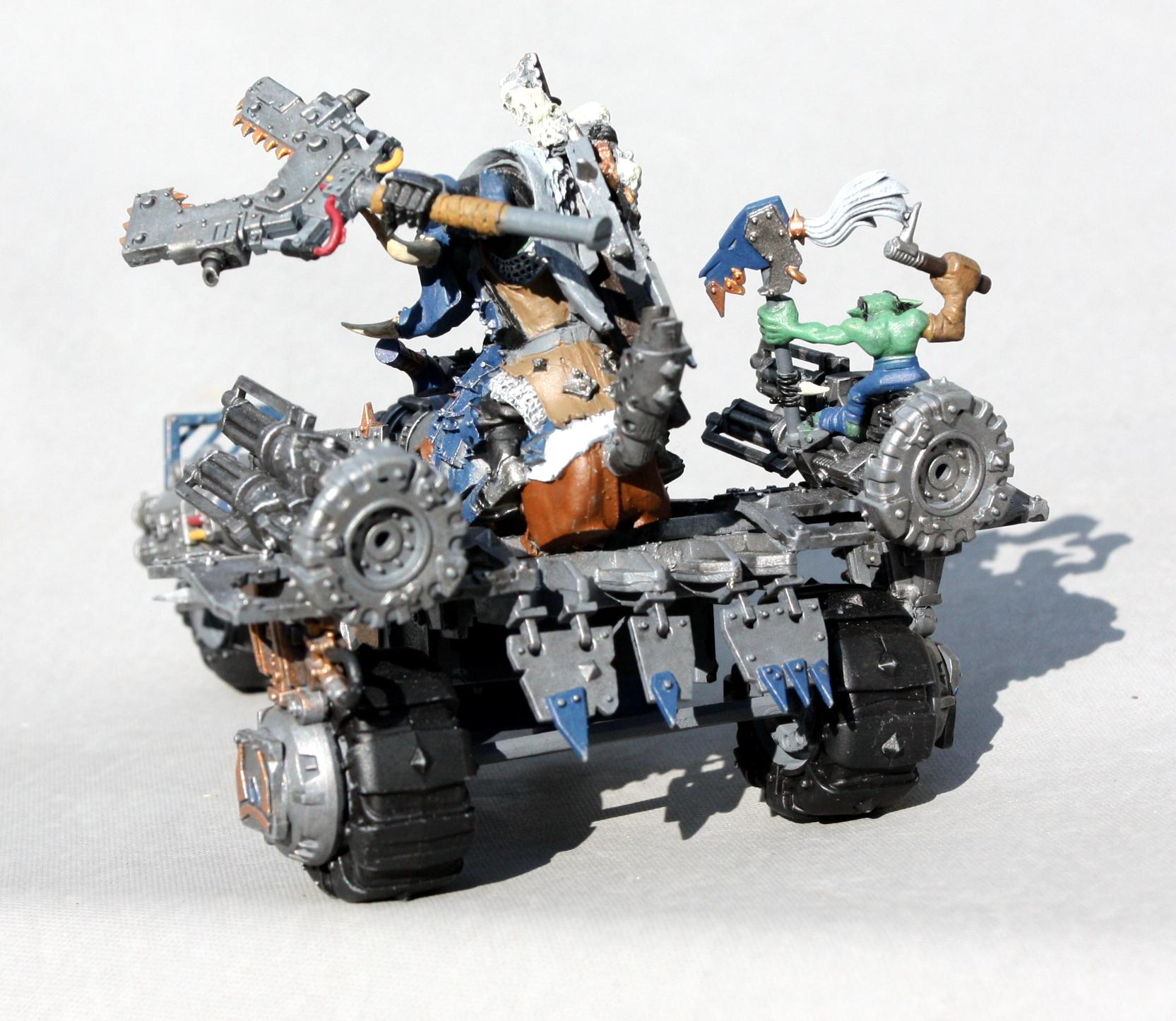 Bike, Custom, Dakka Dakka, Gorbad, Green, Ironclaw, Orks, Scratch, Waaagh!, Warboss