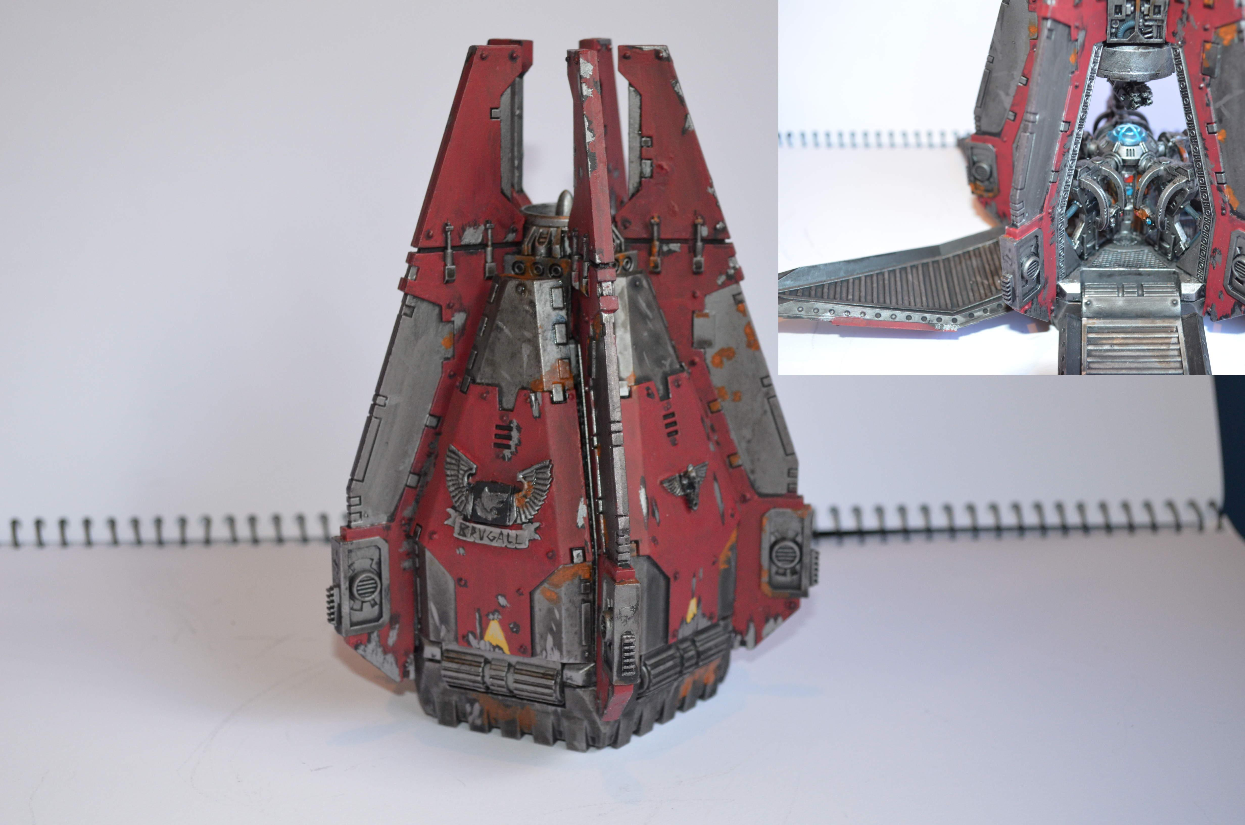 Drop Pod, Iron Wolves, Space Wolves, Terminator Armor