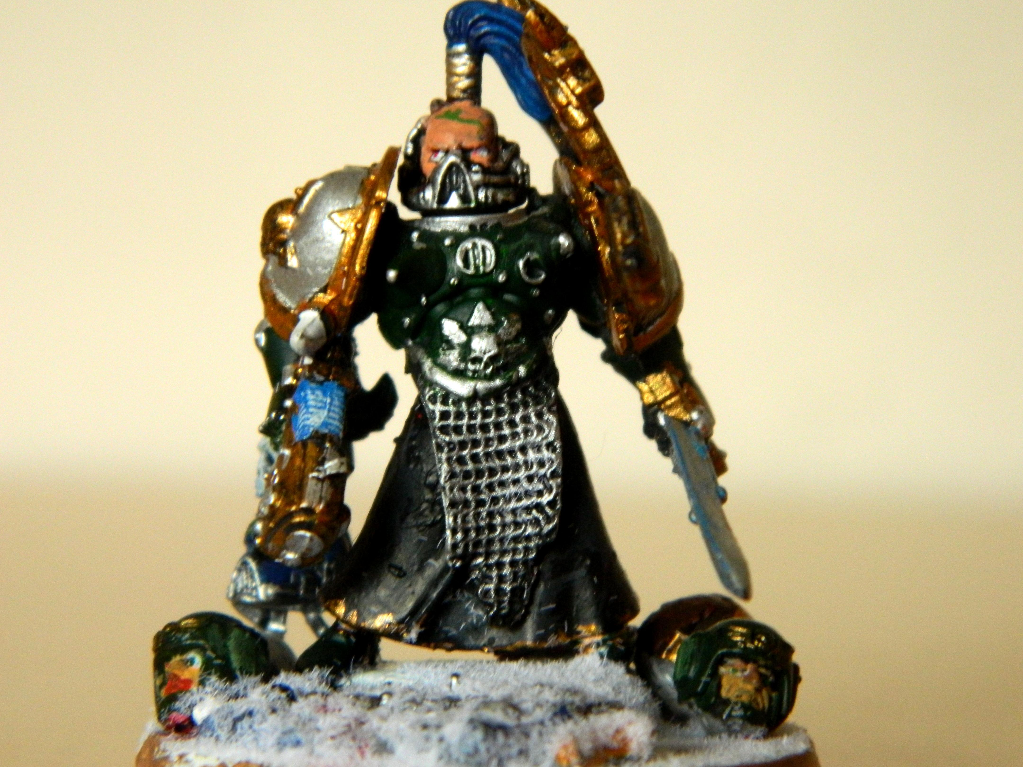 Alpha, Alphalegion, Chaos, Chaos Space Marines, Conversion, Lord, Snow, Warhammer 40,000